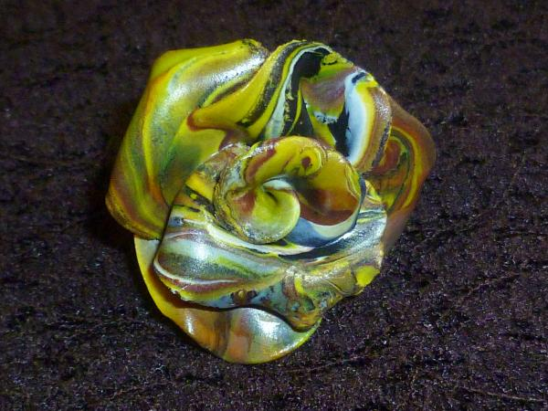 Bague rose camouflage