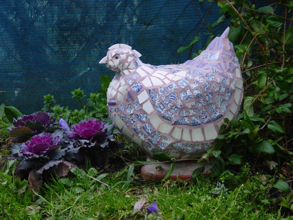 POULE DECORATIVE